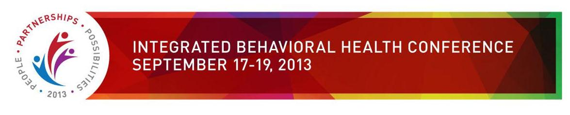 WV Integrated Behavioral Health Conference 2