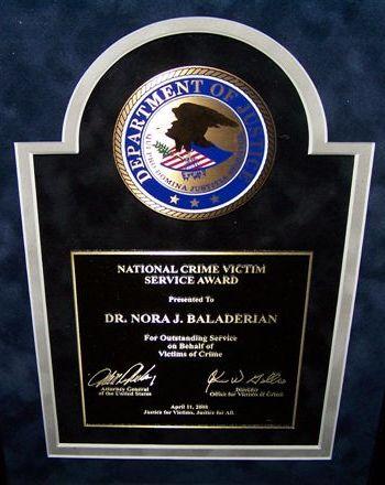 National Crime Victims Rights Week - Award