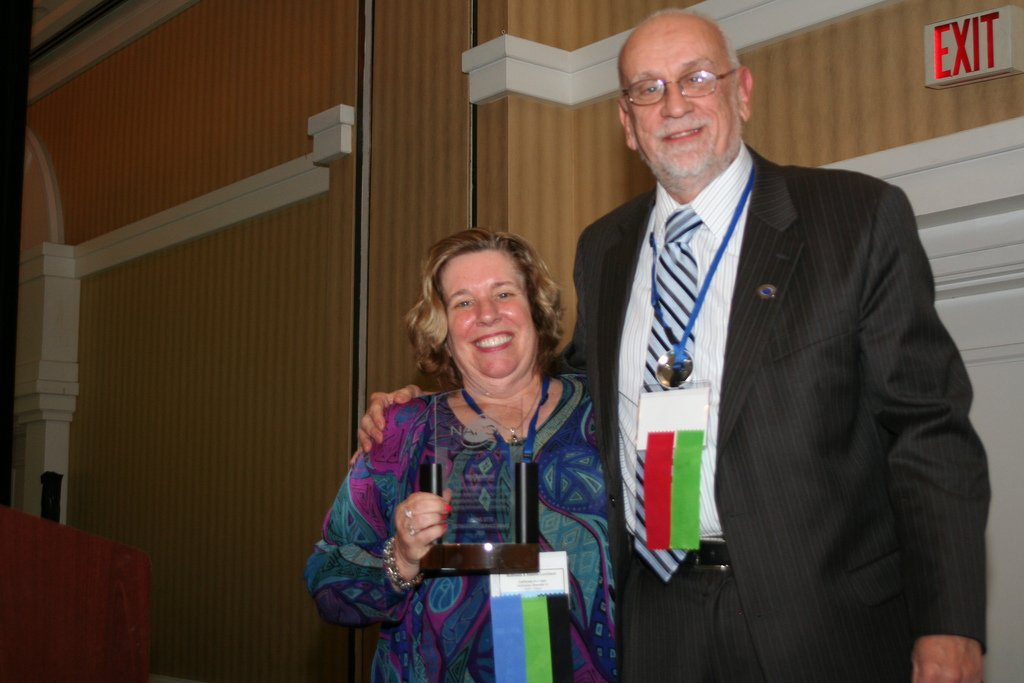 National Adult Protective Services Association - Dr Nora with Award